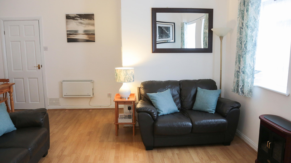 Tynemouth Holiday Cottage Lounge